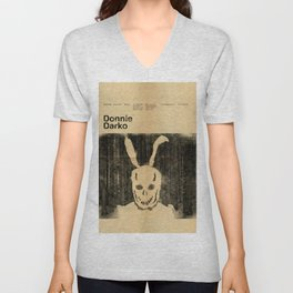 Donnie Darko Minimal Movie Poster Unisex V-Neck