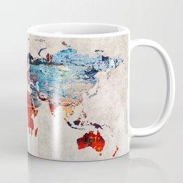 World Map 60 Coffee Mug