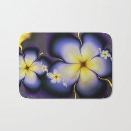 Petite Fleur Jaune Fractal Bath Mat