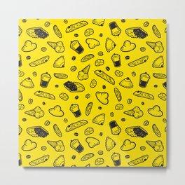 Sweet Sicily dream yellow Metal Print