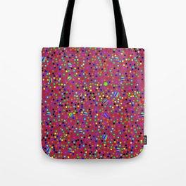Colorful Rain 13 Tote Bag