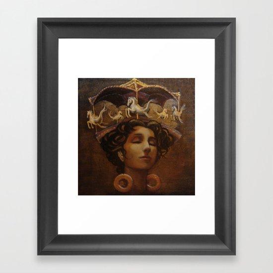 Brass Ring Dream Framed Art Print