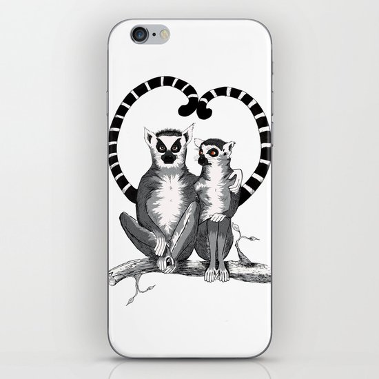 Lemur L'amur iPhone & iPod Skin