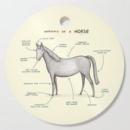 Anatomy of a Horse Cutting Board
