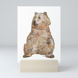 you're unbearably cute! Mini Art Print