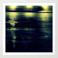 metallic Art Prints featuring metallic by agnes Trachet