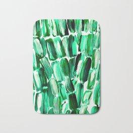 Green Sugarcane, Unripe Bath Mat