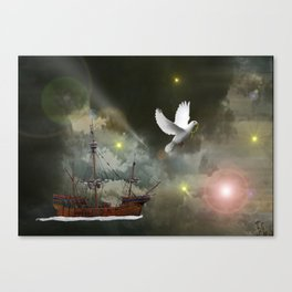 Sky Voyager Canvas Print