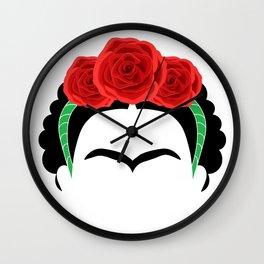 Frida Kahlo: Te quiero mas que mi propia piel. Wall Clock