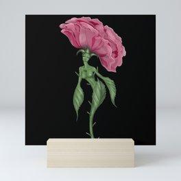 ROSA TE AMO Mini Art Print