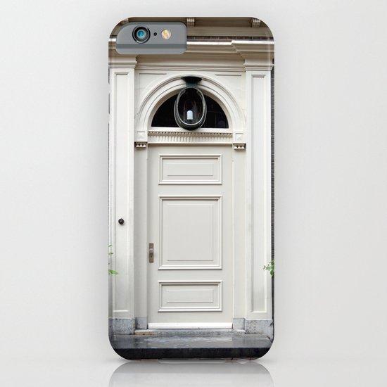 White church door iPhone & iPod Case