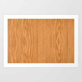 Wood Grain 4 Art Print