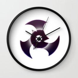 Midnight Shuriken Wall Clock