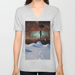 Lift Off Unisex V-Neck