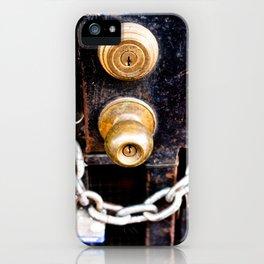 Locked 2011 iPhone Case