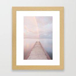 Path To Heaven Framed Art Print