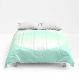Turquoise dream Comforters
