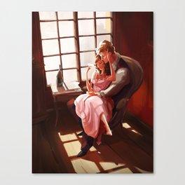 Emma et Leon Canvas Print