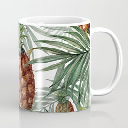 King Pineapple Coffee Mug