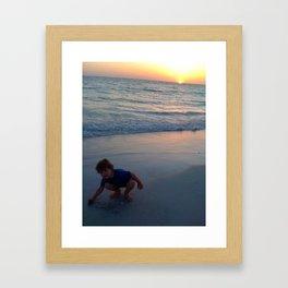 Sunnin' Framed Art Print