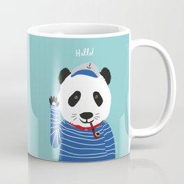 Mr. Panda Seaman Coffee Mug