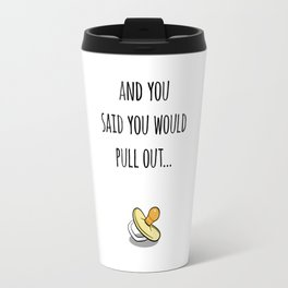 Oops Its a baby (TBD), funny pregnancy announcement Travel Mug