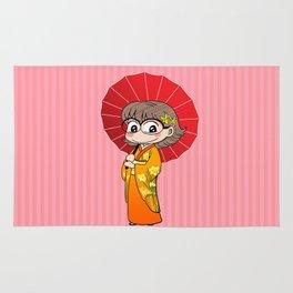 Eva in Kimono Rug