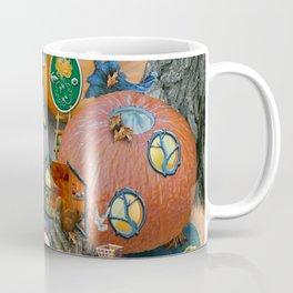 Fall Pumpkin Fantasy Tiny House Village Coffee Mug