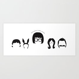 Don't Have a Crap Attack - Bobs Burgers Art Print