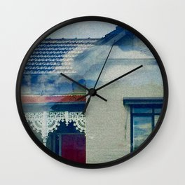 Floating through Carlton Wall Clock
