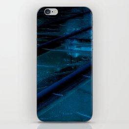Blue Glass Waterfall iPhone Skin