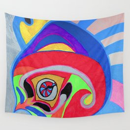 Peng-ompass Wall Tapestry