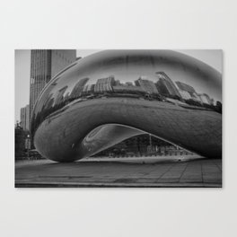 morphed skyline #3 Canvas Print