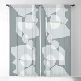 Shape study #30 - Inside Out Collection Blackout Curtain