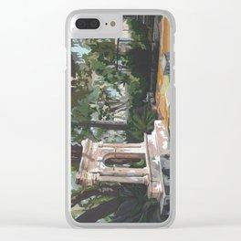Bonaventure Cemetery Clear iPhone Case