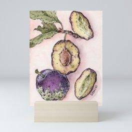 Rotting Plums Mini Art Print