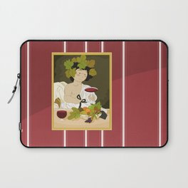 Bacco by Caravaggio Laptop Sleeve