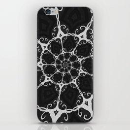 Dark Mandala #3 iPhone Skin