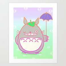 TotoroFan art  Art Print
