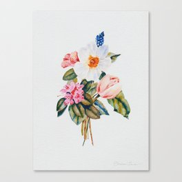 Loose Spring Bouquet Canvas Print