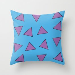 Rocko's Triangles Throw Pillow