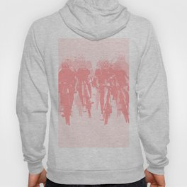 Cyclists in the sprint pink Hoody