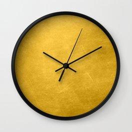 Sunshine Gold Wall Clock