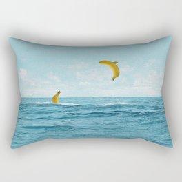 Free Bananas Rectangular Pillow