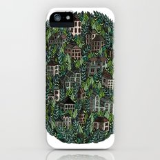 Little Forest Town iPhone (5, 5s) Slim Case