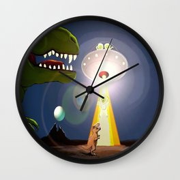 The Rex Files Wall Clock