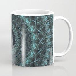 Mandala in malachite green tones Coffee Mug