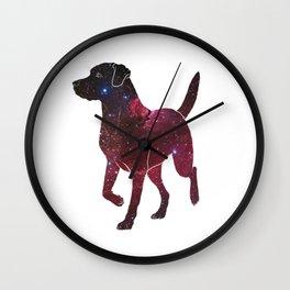Space Labrador Wall Clock