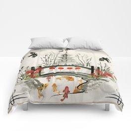 Oriental Garden Comforters