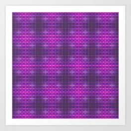 Flex pattern 5 Art Print